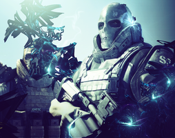 Army of two by Kinetic9074