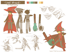 Character Sheet: Leaf Wizard by Rock-Bomber