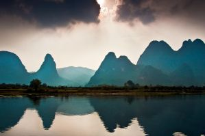 China, Li River by alierturk