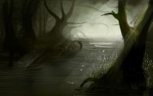 Random Swamp by Katie-Grace