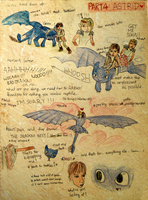 HTTYD Hiccup + Toothless PART4 by vivsters