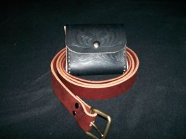 steam punk belt and pouch by silent-assassin-XIII