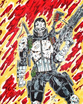 Army of TWO Inspired Punisher by coyote117