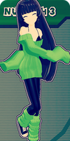 MMD RxNxD FusionFall KND Numbuh 3 by RinXNeruXD