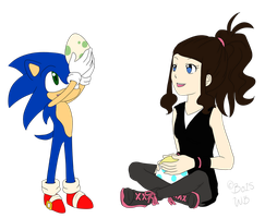 :Request: Sonic and Hilda Friendship by Wolfbin