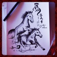 The Year of The Horse by SongYong