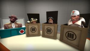 More mercs in Boxes by Nikolad92