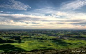 The Palouse From Midway by rdw283