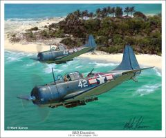 SBD Dauntless by markkarvon