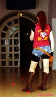 Claire Redfield - Into the Darkness by ChaoticClaire