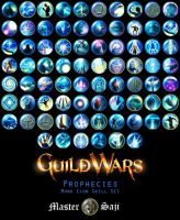 GW Proph-Monk Skill Icon Set by MasterSaji