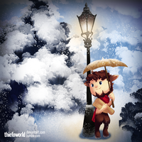 Mr Tumnus by Thiefoworld