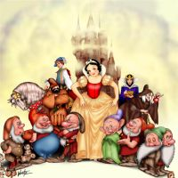 Walt Disney's Snow White by snowsowhite
