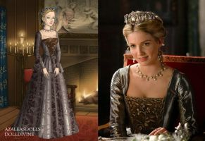 Jane's Silver and Bronze Dress by LadyAquanine73551