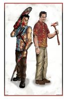 Ash and Sam Axe by ArtisticSchmidt