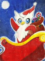 +The Christmas Delibird+ by Lovely-Autumn