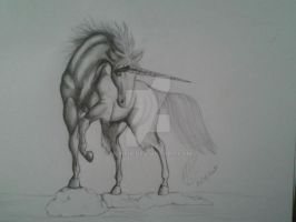 Unicorn by Menfia