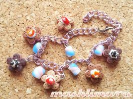 Cookie Marshmellow Bracelet by mashlimaro
