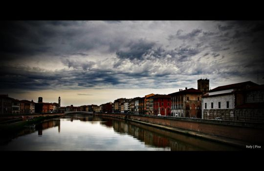 Throught the city of Pisa by guyfromczech