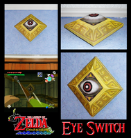 LoZ:WW - Eye Switch by Vejit