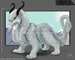 Arctic Dragon Concept by Legendary-Darkness