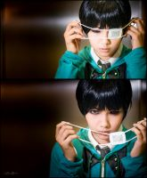 Tokyo Ghoul: Neither Human nor Ghoul by shien7aries