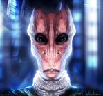 Salarian Inspired Alien by Mick2006