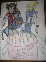 A YGO 5Ds Birthday by Inufan078