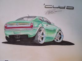 New 'Cuda concept by prestonthecarartist