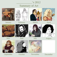 2012 art summary by AliceSacco
