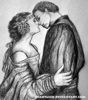 Anakin and Padme by EdArtGeek