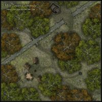 Miir Tower Campsite by Neyjour
