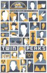 Twin Peaks poster by billpyle