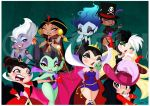 9 Disney Villains Print by mashi