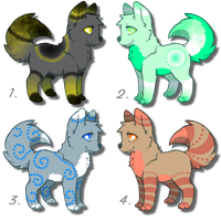 Adorable canine adoptables! Just 10pts each! by DailyAdoptables