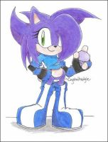 :AT: Grace the Hedgehog by Crystalhedgie
