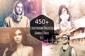 On Sale 450+ Pro Lightroom Presets Bundle Vol. 1 by symufa