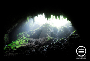 Camuy Cave Entrance by manwithashadow