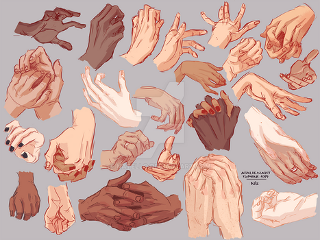 Hands by Natello