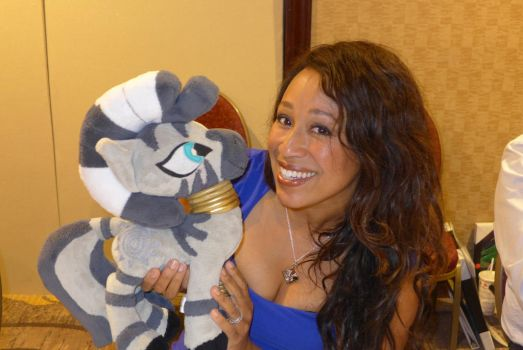 Brenda Crichlow with Zecora by Spark-Strudel