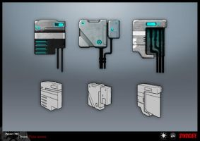 SYNDICATE concept - fuseboxes by torvenius