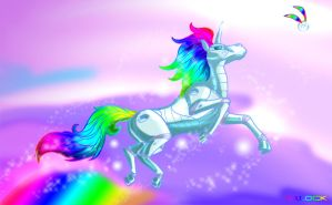 Robot unicorn attack by mlock