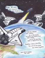 Farewell, Space Shuttles... by WMDiscovery93