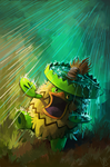 Ludicolo by DrManiacal