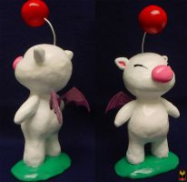Moogle Sculpture - Kupopo by NikkiWardArt