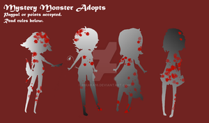 Mystery Monster adopts (closed and sold) by Kiraka16