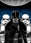 RETRO Magazine art - Darth Vader and friends by Thormeister