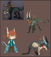.:Adoptables #19:. [CLOSE] by O-Shana
