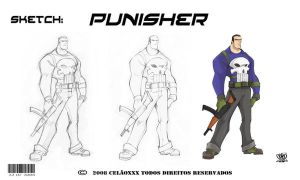 Punisher by celaoxxx