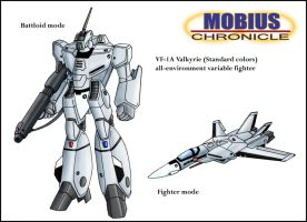 Mobius Chronicle:VF-1 Valkyrie by zeiram0034